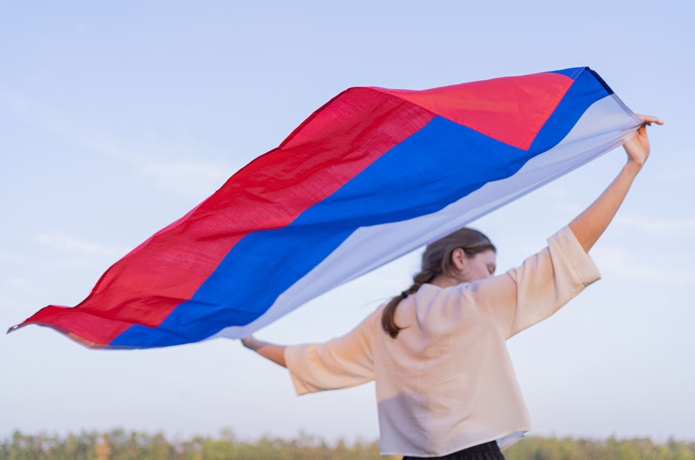Спортсмены по всей стране приняли участие в акции в честь Дня России