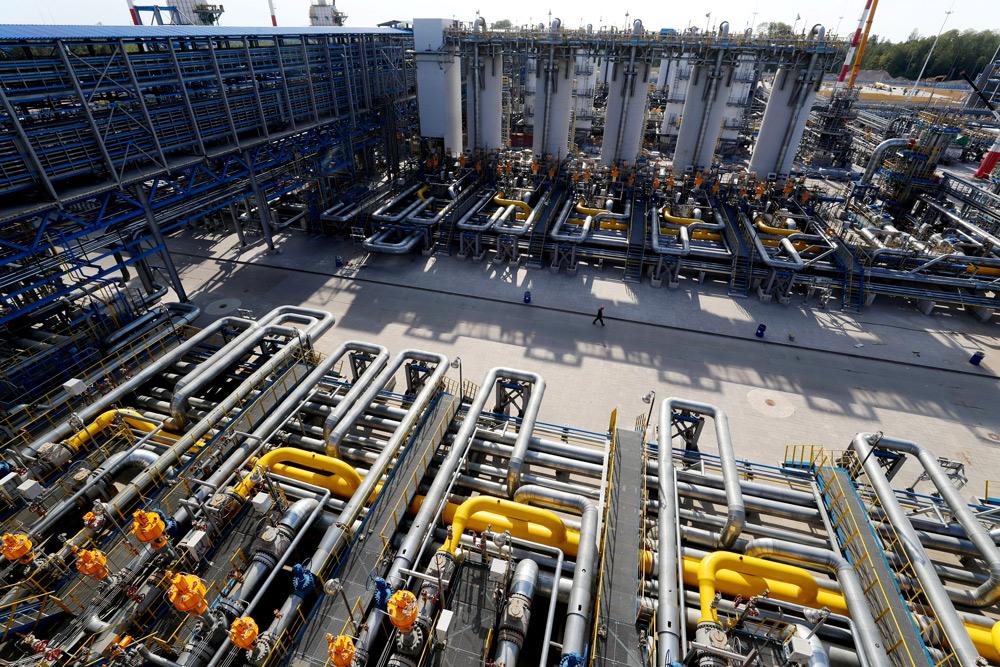 'Газпром' обогнал по закачке газа в свои хранилища всю Европу