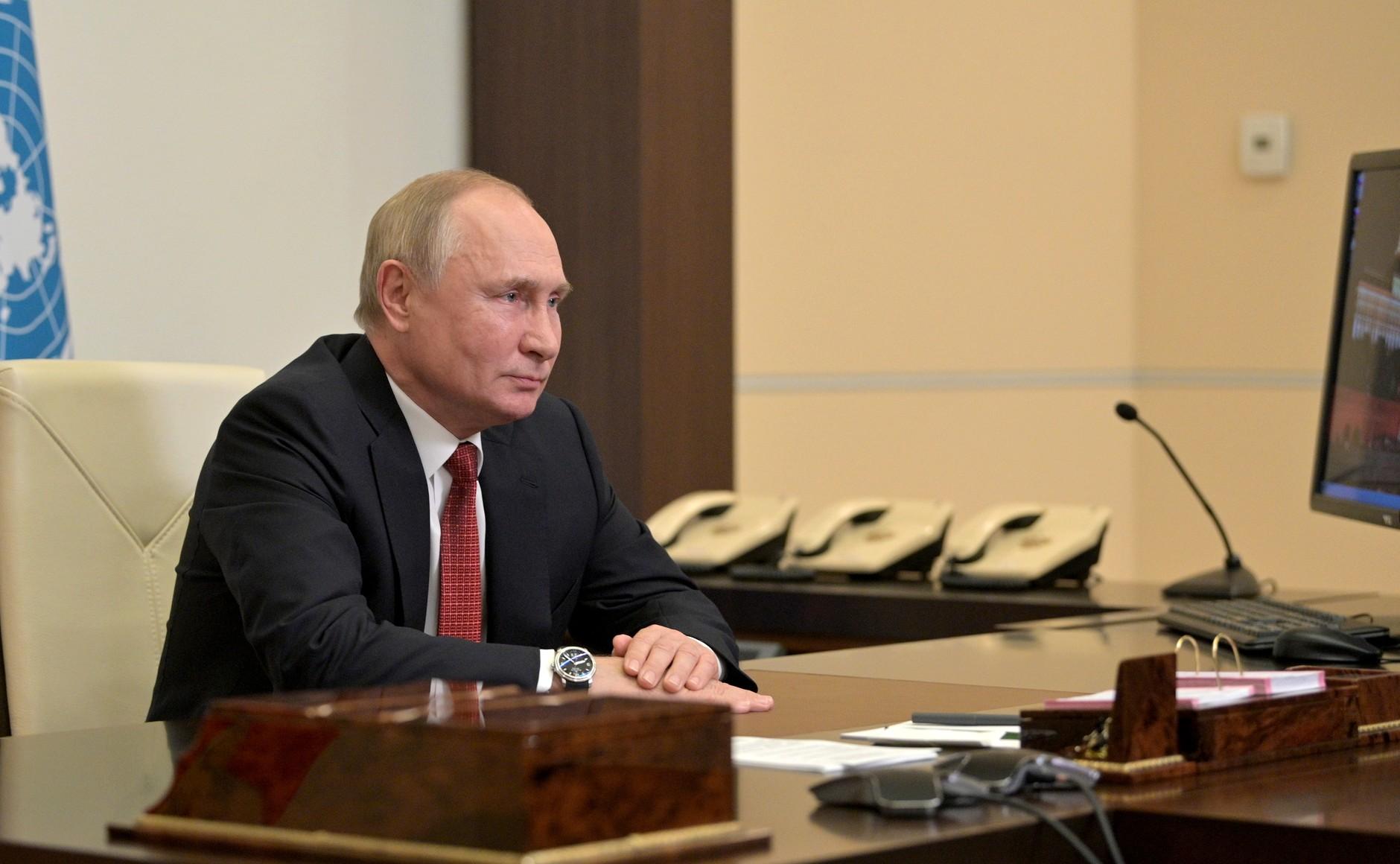 Путин ответил на вопрос о намерении вновь баллотироваться в президенты