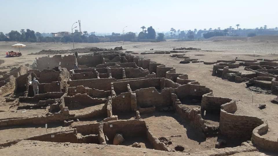 В Египте обнаружили огромный затерянный город возрастом более 3 000 лет